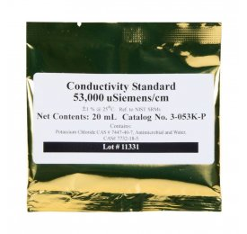 Conductivity 53mS liquide de calibrage